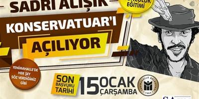 Başkan Yaşar Konservatuar sözünü tuttu