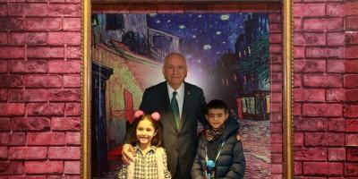 Başkan Yaşar, Optik İllüzyon Sergisi'ni açtı
