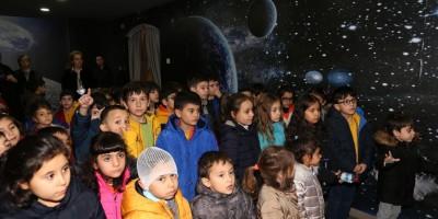 Yenimahalle'nin bilim adamları çocuk müzesinde