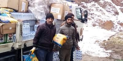 Yenimahalle'nin yardım eli deprem bölgesinde